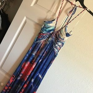 Must See❤️☀️Summer Maxi Halter Dress